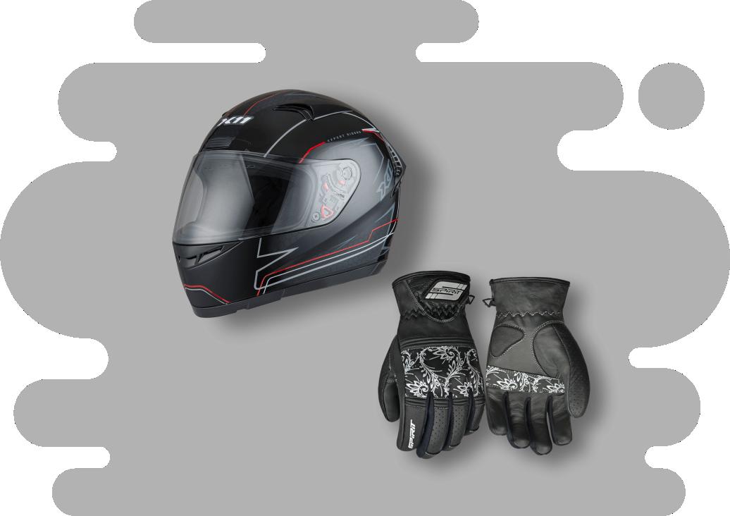 Componentes para motociclistas - Magna Certificação